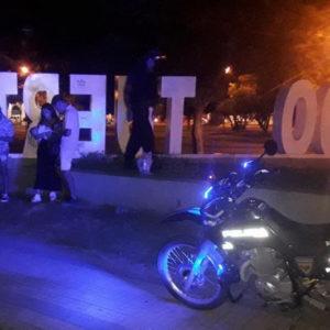 Procedimiento por vandalización de letras corpóreas en plaza san martín