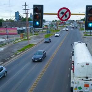 El gobierno pone en marcha un plan para sincronizar ymodernizar los semáforos de ruta 8