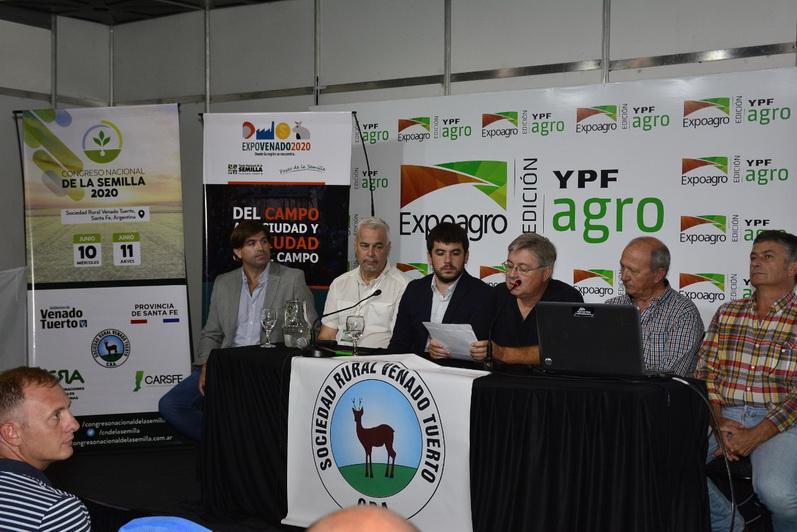 Expovenado 2020 y el Congreso Nacional de la Semilla fueron presentados en Expoagro
