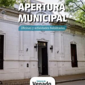 Con estricto protocolo sanitario reabren algunas oficinas públicas municipales