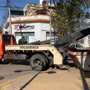 #OrdenyPrevención. El municipio retomó el operativo de control de mercadería decomisada en un comercio clausurado