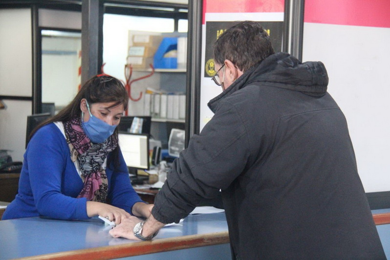 Exitosa primera jornada de reapertura de oficinas municipales