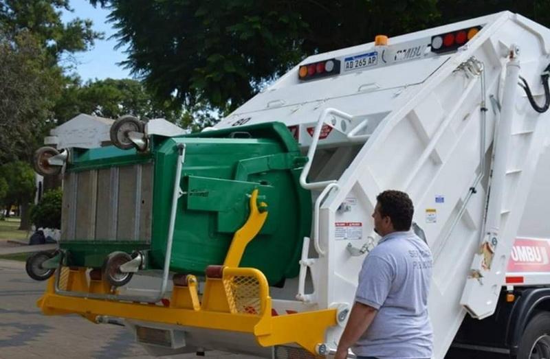 Con medidas preventivas se normalizará la recolección de residuos mayores y bolsones