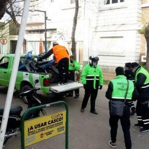 El gobierno municipal superó la cantidad de motos secuestradas en 2019