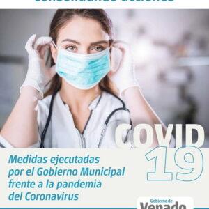 El gobierno de la ciudad presentó un informe de Covid19 con las acciones municipales realizadas durante los dos primeros meses de cuarentena