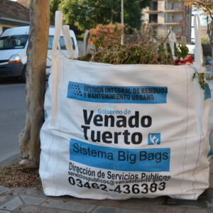 Retiro de bolsones para residuos verdes