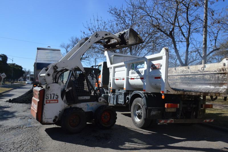 Milardovich: El municipio avanza a paso firme para recuperar las calles de asfalto