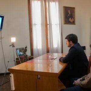 A través de videoconferencia Chiarella y Larreta pusieron en marcha el programa «Terminá la secundaria»