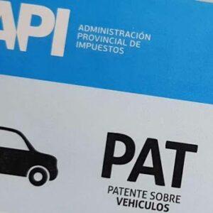 Distribución de boletas de patentes
