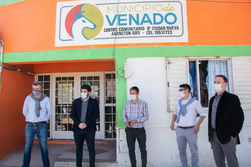 El municipio, el senador y la provincia impulsan obras de ampliación para el Centro de Salud del Ciudad Nueva