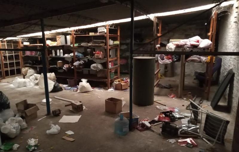 Tras nuevo operativo de control municipal clausuran una fábrica de productos de copetín