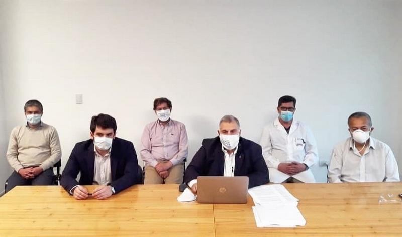 Municipio y Rotary Venado Tuerto suman esfuerzos para incorporar máquina que extraerá plasma de pacientes recuperados de COVID