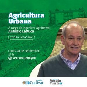 Charla sobre agricultura urbana con el ingeniero Antonio Lattuca