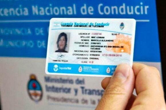 Prorrogan el vencimiento de las licencias de conducir por 365 días
