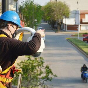 El gobierno municipal incorporará 33 nuevas cámaras para fortalecer el sistema de videovigilancia en la ciudad