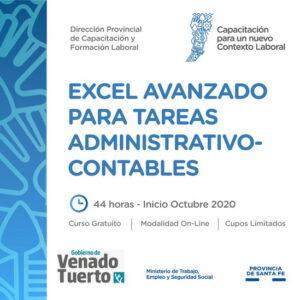 Excel avanzado para tareas administrativas y contables