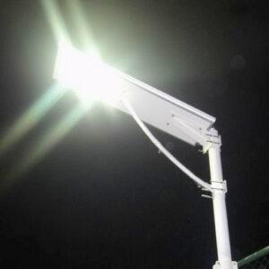 El municipio recambiará el sistema lumínico de la avenida 2 de Abril por luces led
