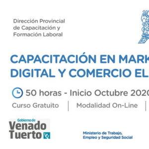 Lanzan capacitación online en marketing digital y comercio electrónico