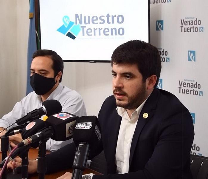 Chiarella anunció que el 1 de diciembre se abre la inscripción a los 110 terrenos municipales que estarán en venta
