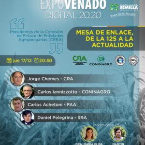 Nutrido programa de actividades en Expovenado Digital 20.20