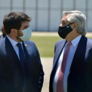 Las gestiones del intendente Chiarella ante el presidente Fernández