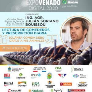 Consejos e información sobre la alimentación bovina en Expovenado 20.20