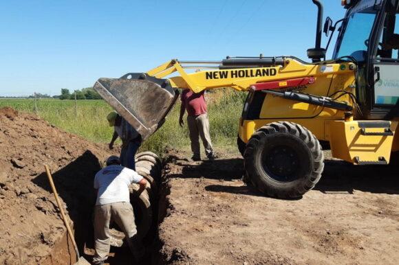 La Secretaría de Obras y Servicios Públicos profundiza su tarea de reparación de calles