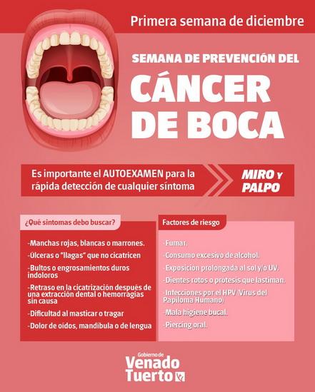 cancer bucal campana