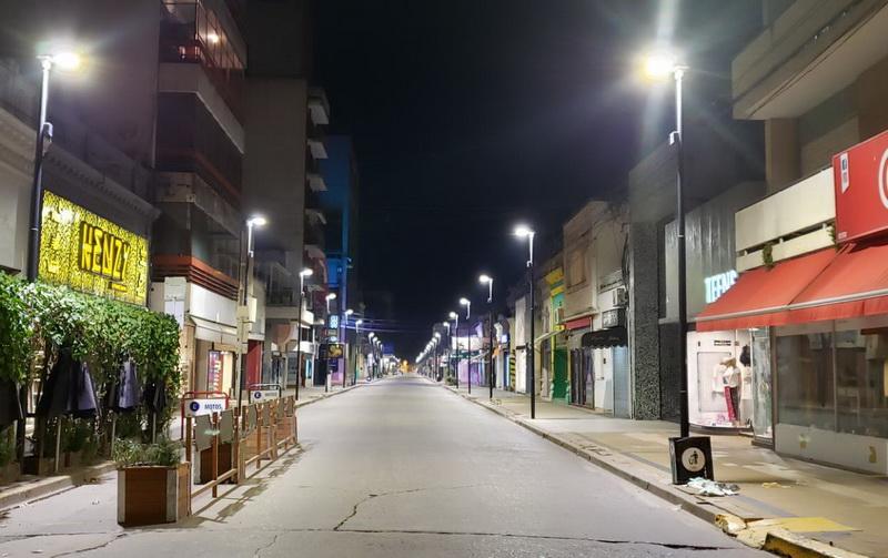 El municipio venadense adhiere al toque de queda entre las 0.30 y las 6