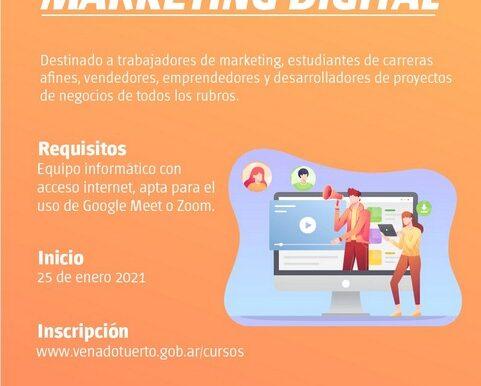 La Oficina de Empleo lanza curso online de Marketing Digital