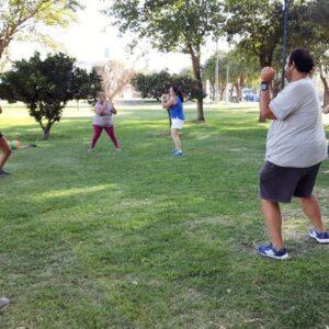 Durante el mes de febrero continuarán las actividades físicas y saludables para personas con sobrepeso y obesidad