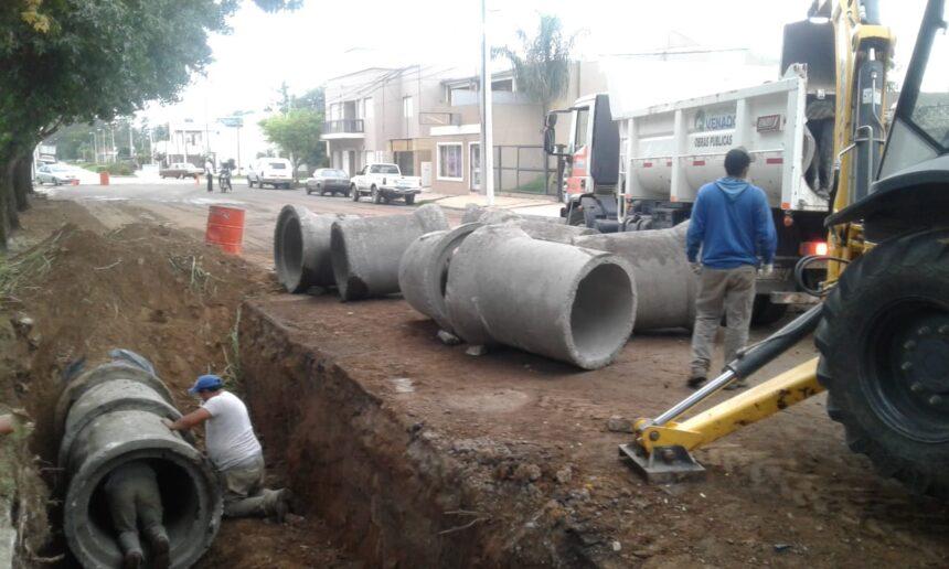 El Municipio profundiza los trabajos de limpieza de desagües y canales