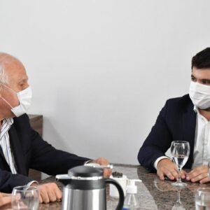 Miguel Lifschitz se reunió con Chiarella para avanzar con un plan provincial de infraestructura