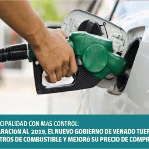 Más control: en comparación con 2019, el nuevo Gobierno de Venado Tuerto ahorró 150 mil litros de combustible y mejoró su precio de compra
