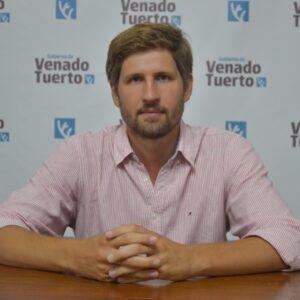 Santiago Meardi inició su ciclo como nuevo secretario de Desarrollo Productivo y Planeamiento Urbano en el Gobierno municipal