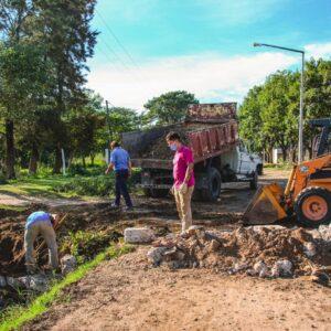 El Municipio efectuó un operativo integral de limpieza en el barrio Alejandro Gutiérrez