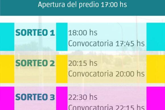 Este viernes se realizará el sorteo de terrenos municipales en el Prado de María