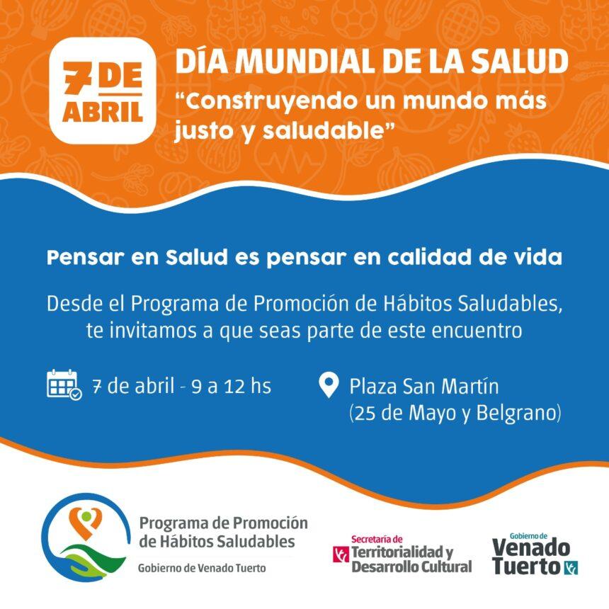 El Municipio promueve hábitos saludables en el Día Mundial de la Salud