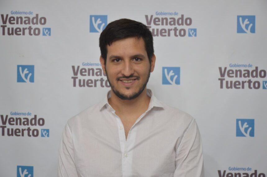 Facundo Rebasti se hace cargo de la Dirección de Vecinales
