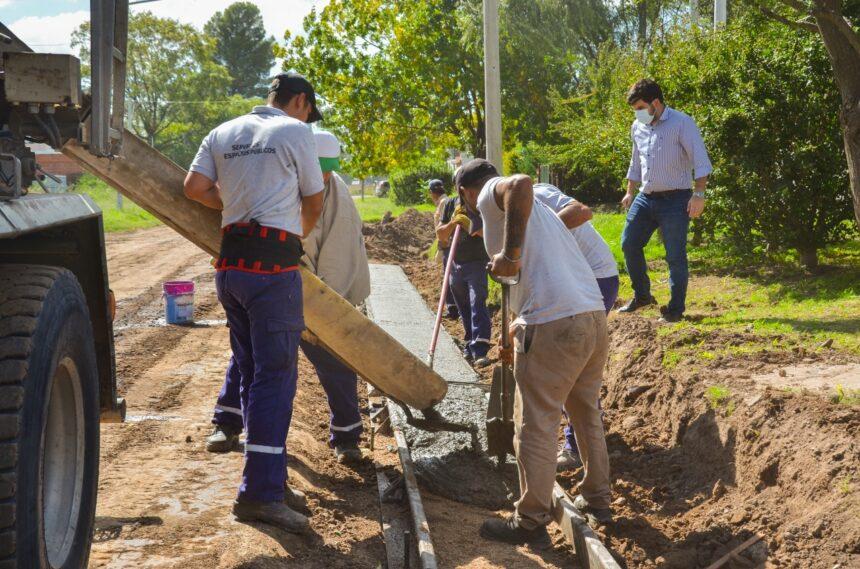 El Gobierno de la Ciudad suma más obras en los barrios