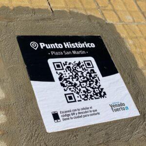 Descubriendo la historia de la ciudad a través del sistema de códigos QR