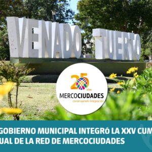 El Gobierno Municipal integró la XXV Cumbre Anual de la Red de Mercociudades