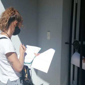 El relevamiento sobre la situación laboral en la ciudad ya alcanzó a 200 hogares de distintos barrios