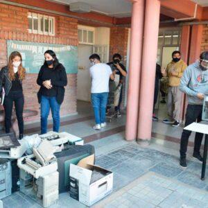 Con apoyo del municipio alumnos de la escuela 602 reciclarán desechos electrónicos