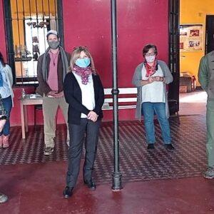 La Red Patrimonio en construcción visitó el Museo Regional y Archivo Histórico