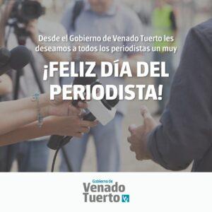Salutación del Intendente en el Día del Periodista