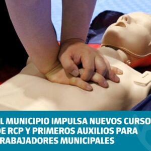El Municipio impulsa nuevos Cursos de RCP y Primeros Auxilios para trabajadores municipales