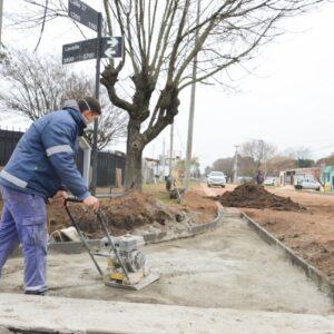 El Municipio mantiene su ritmo de trabajo permanente de calles y desagües