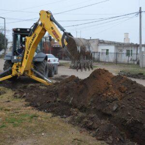 El Gobierno Municipal avanza con las tareas de limpieza y mantenimiento de canales