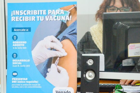El Gobierno de Venado Tuerto ayuda a la población a anotarse para recibir la vacuna contra Covid